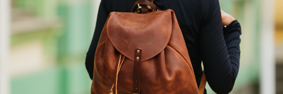 New lightweight Leaf backpack inspired by the nature