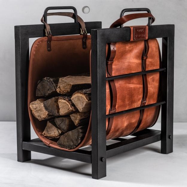 Log Rack And Log Bag WS044