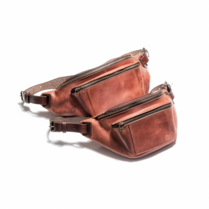 Leather Fanny Pack SE043