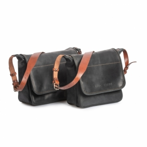 Handcrafted leather briefcase   messenger bags by KrukGarage 7d3d451411