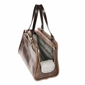 Leather Pet Carrier WS061