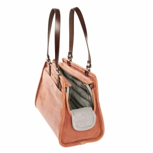 Leather Pet Carrier WS059