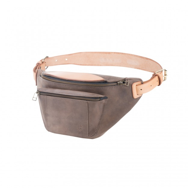 Leather Fanny Pack SE042