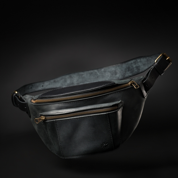Leather Fanny Pack SE044