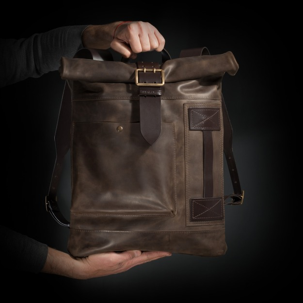 Leather Backpack 2.132