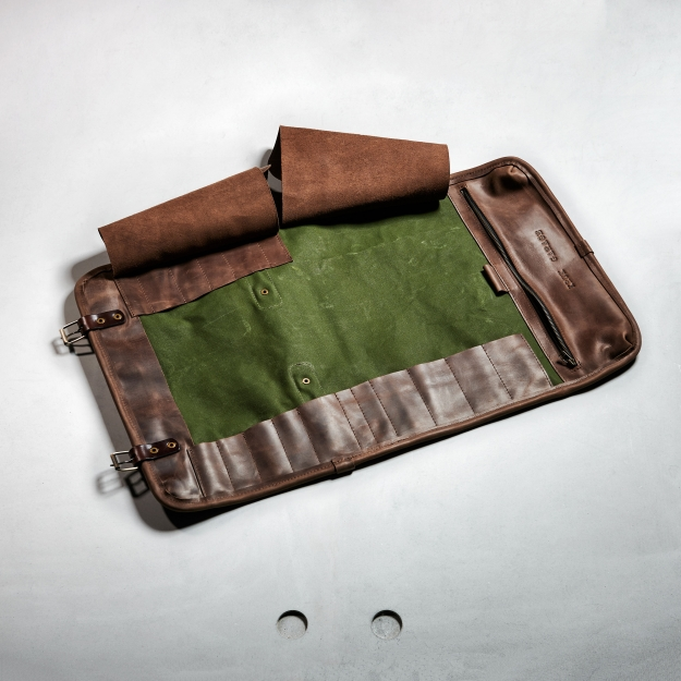 Canvas Knife Roll WS057